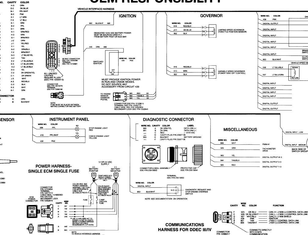 TM 9 2320 302 20_1896_1 ddec 2 wiring diagram ddec iv schematic \u2022 free wiring diagrams ddec iv wiring harness at couponss.co