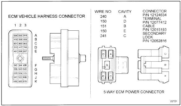 Ddec 3 ecm wiring diagram on figure 22 7 ecm vehicle harness connector Truck Wiring Schematics 3 Wire Pressure Sensor Circuit Diagram
