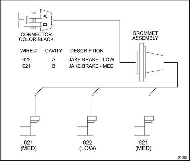 figure 31 1 engine brake harness schematic. Black Bedroom Furniture Sets. Home Design Ideas
