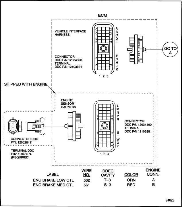 internal engine brake for ddec system ecm ddec troubleshooting 92 6 internal engine brake for ddec system ecm the following wire schematics support the internal engine brake see figure 92 8