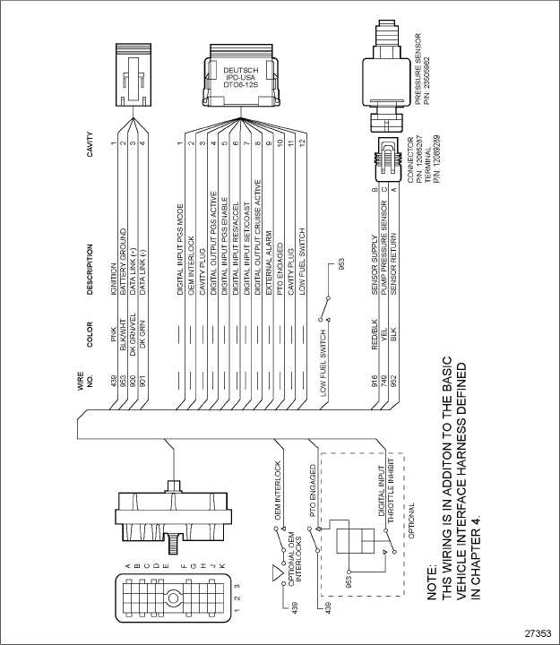 detroit series 60 ecm wiring diagram detroit diesel series